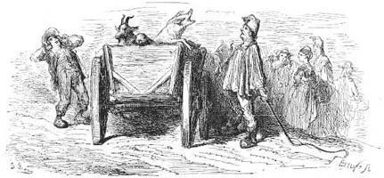 Ягненок и Поросенок (Г. Доре)