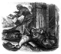 Фермер, Собака и Лисица (Гранвиль)