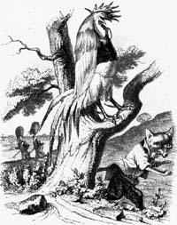 Петух и Лиса (Гранвиль)