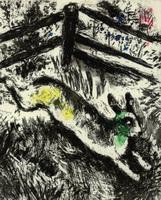 Иллюстрация к басне Заяц и Лягушки