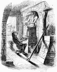 Язычник и деревянный Идол (Гранвиль)