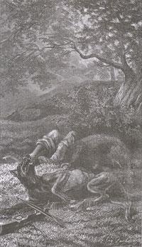 Волк и Охотник (Е. Ламберт)