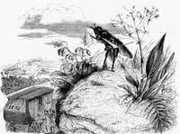 Муха и Дорожные (Гранвиль)