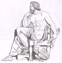 Зевс (Юпитер) (Б.Торвальдсен)