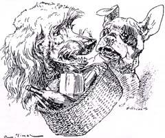 Собака с хозяйским обедом (Вимар)