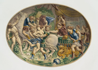 Битва лапифов и кентавров (Б. Палисси)