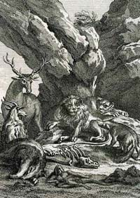 Лев и его Двор (Удри)